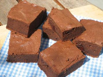 Ginger Spice Chocolate Brownies
