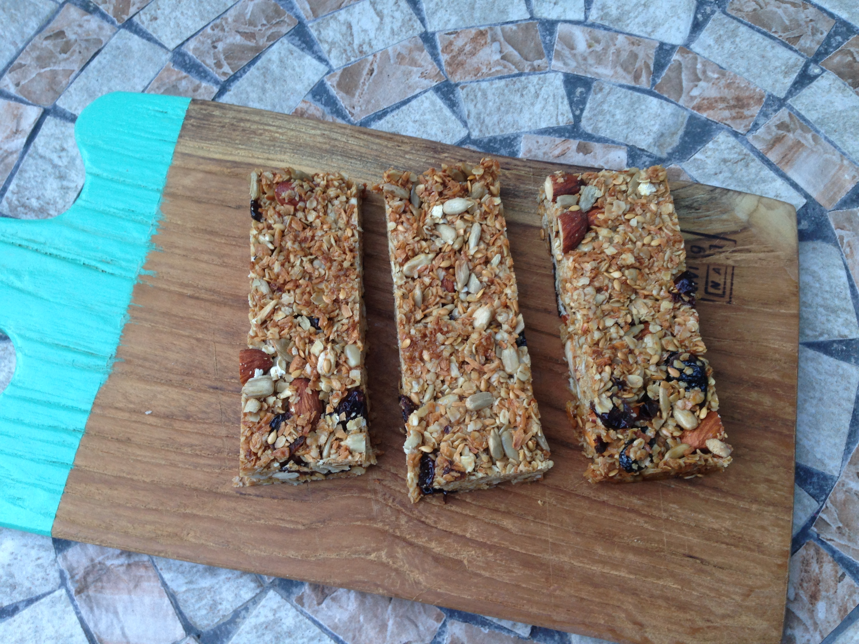 Recipe Crunchy snack bars - mydish