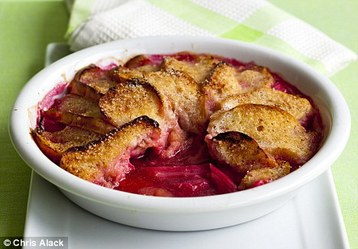 Annie Bell's Rhubarb and Ginger Charlotte