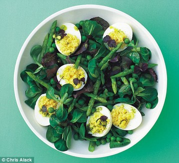 Annie Bell's Ultimate Spring Green Salad