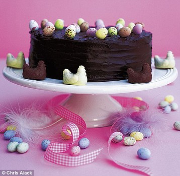 Recipe Annie Bell's Layered Easter Gateau - mydish