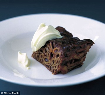 Recipe Annie Bell S Chocolate Macaroni Pudding Mydish
