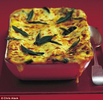Annie Bell's Sage and Onion Lasagne