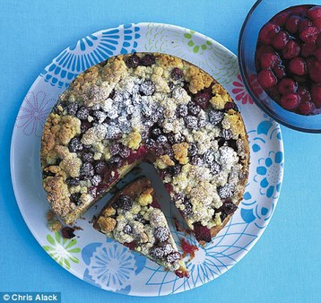 Annie Bell's Summer Pudding Crumble Cake