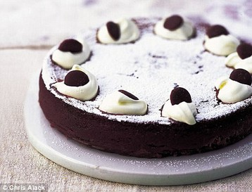 Annie Bell's Dairy Milk Mousse Cake