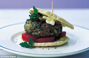 Annie Bell's Fast Herby Burgers