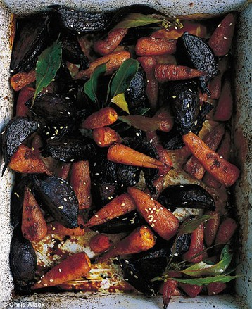 Annie Bell's Honey-roasted Red Roots