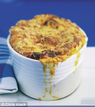 Annie Bell's Cheese Souffle Mash
