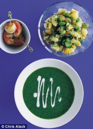 Annie Bell's Parsley and Lemon Soup