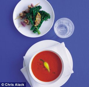 Annie Bell's Two Pepper Soup