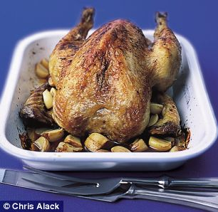 Recipe Annie Bell's Garlicky Roast Chicken - mydish