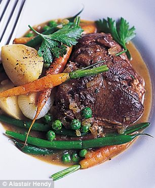 Alastair Hendy's Lamb Chop Stew with Baby Vegetables