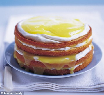Alastair Hendy's Lemon Curd Layer Cake