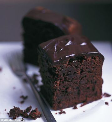 Alastair Hendy's Thyme and Stem Ginger Brownie Cake