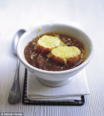 Alastair Hendy's Onion and cider soup