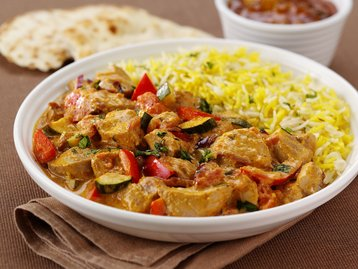 Creamy Turkey Korma