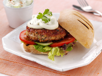Sweet Chilli Turkey Burgers