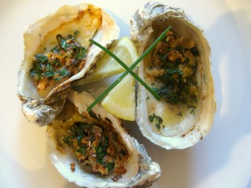 Fresh Baked Oyster
