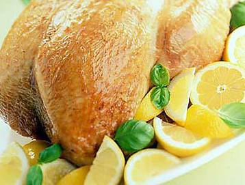 Recipe Basil, Lemon Turkey Crown - mydish