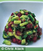 Amber Black's Avocado Salsa