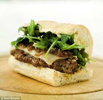 Recipe Marcus Wareing's Cheese Burgers with Caramelised Onions - mydish
