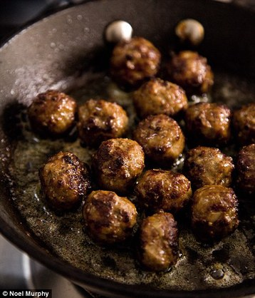 Marcus Wareing's Masala Meatballs with Coriander and Coconut Sauce