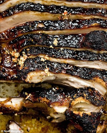 Recipe Marcus Wareing's Blackened Chilli Belly Of Pork - mydish