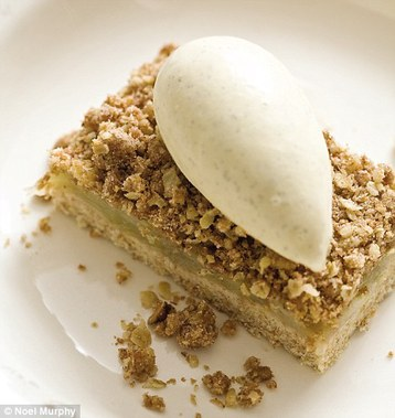 Murcus Wareing's Spiced Apple Crumble Slices