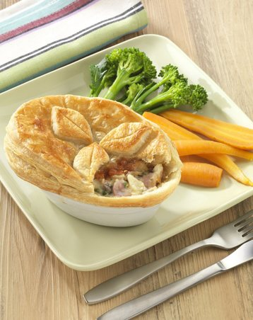 Bacon and Mushroom Pie