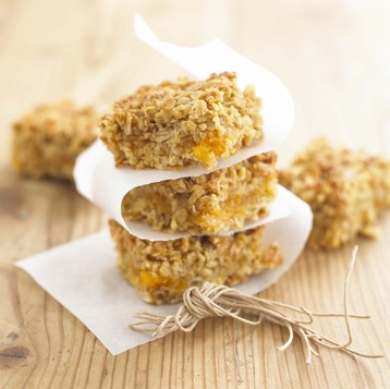 Lemon and Ginger Flapjack