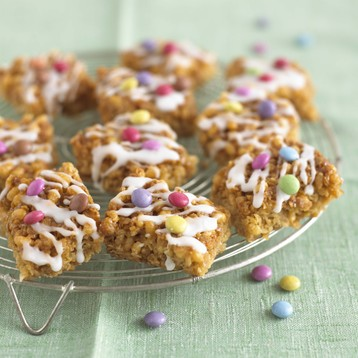 Crackle Mallow Flapjacks
