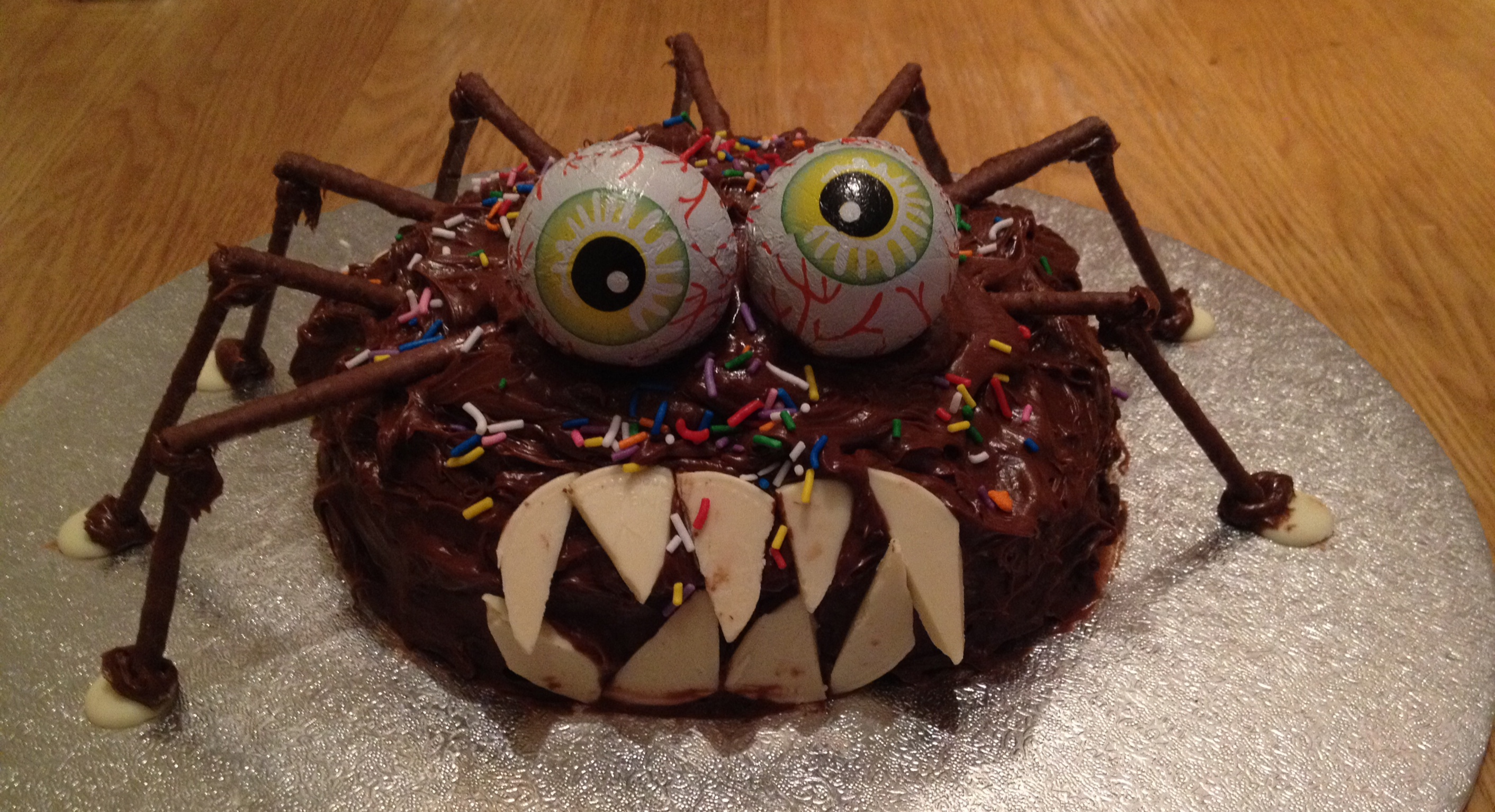 Halloween Spider Cake Recipe Mydish