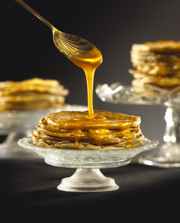 Chieftan Pancakes with Golden Golden Syrup