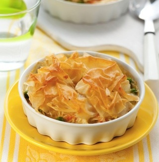 Recipe Chicken and Leek Pie By Dean Edwards On Lorraine Itv - mydish