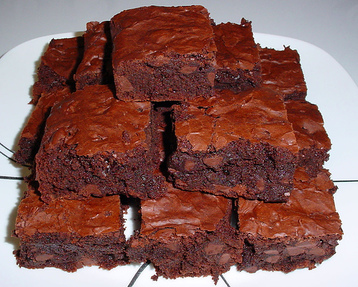 Chocolate Fudge Brownies :)