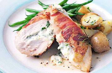 Chicken with Pancetta and Mascarpone