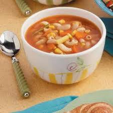 Recipe Bean and Pasta Soup - mydish