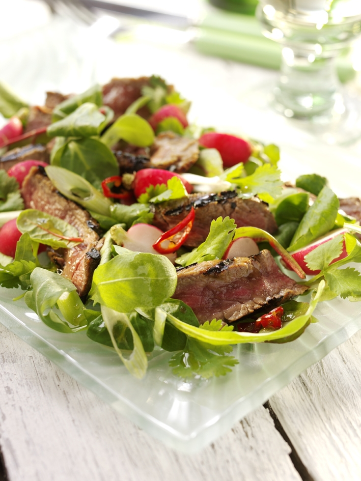 Recipe Marinated Beef Salad - mydish