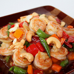 Recipe Kung Pao Prawns with Cashew Nuts - mydish