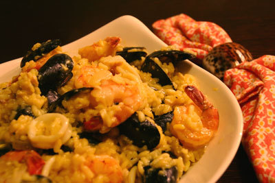 Recipe Seafood Risotto with Crustacean Essence - mydish