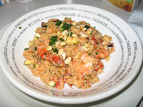 Recipe Seafood with Couscous - mydish