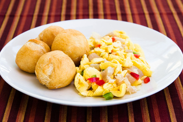 Recipe Rice and Peas with Ackee and Saltfish - mydish