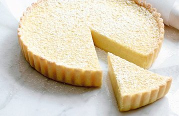 Deep Filled Lemon Tart