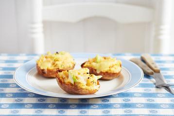 Crab Potato Skins recipe   MyDish
