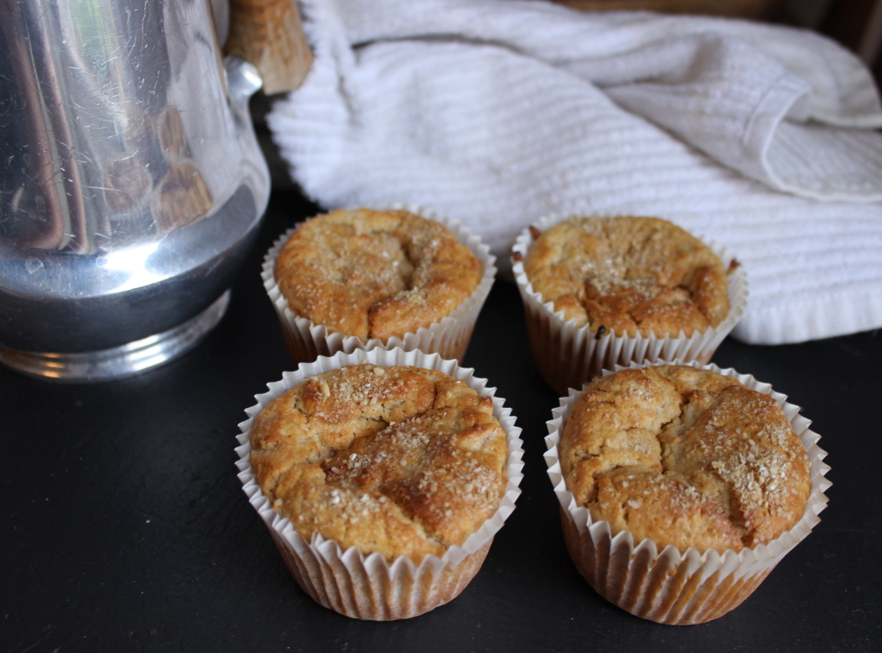 Recipe Apple and bran muffins (dairy and refined sugar free) - mydish